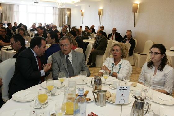 Raúl Heredia, Francisco Góngora, Mª del Carmen Avilés y Sonia Carmona  Foto: Javier Alonso / Rafael G.