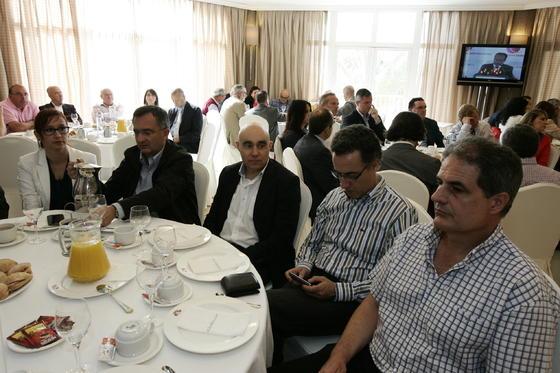 Conchi Parra, Manuel Soto, Alejandro Cano, Jorge Silva y Manuel Ramos  Foto: Javier Alonso / Rafael G.