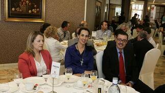 Mª Jesús, Rocío Rentero y Luis Pérez  Foto: Javier Alonso / Rafael G.
