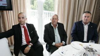 Manuel Rodríguez Barrionuevo, Julio Maldonado y Juan Sánchez  Foto: Javier Alonso / Rafael G.