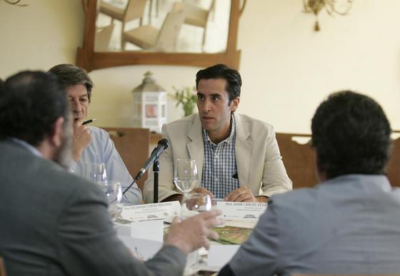 Juan Carlos Vega, secretario de la DO de Aceites de Montoro.   Foto: José Martínez
