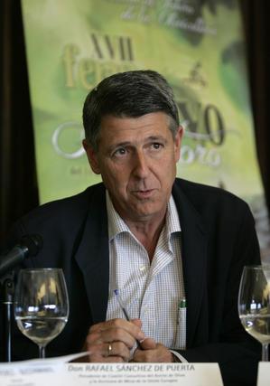 Rafael Sánchez de la Puerta, presidente del comité consultivo del aceite de oliva de la Unión Europea.   Foto: José Martínez