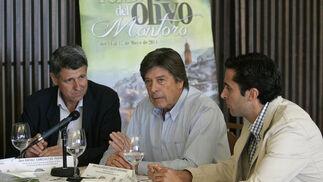 Rafael Sánchez de la Puerta, Salvador Cubero Navarro y Juan Carlos Vega.   Foto: José Martínez