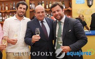 Luis Miguel Martín Rubio, de Ernst & Young, junto a Rafael Cubiella, a su izquierda, e Ignacio Guerrero, de Asepeyo.  Foto: Vanesa Lobo