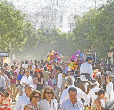 La Feria vivió ayer viernes uno de sus días grandes, como se ve en la imagen.  Foto: Pascual