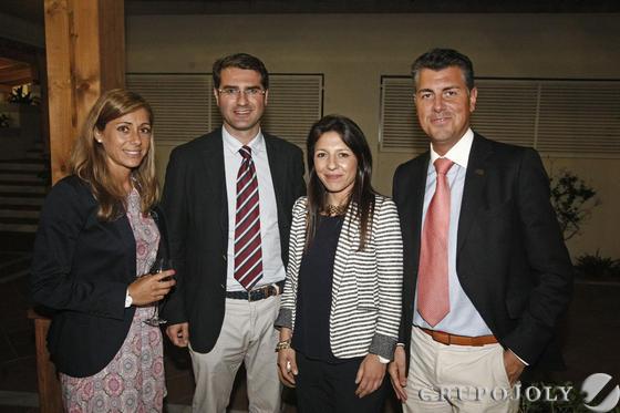 ersonal de la Confederación de Empresarios de Cádiz, durante el cóctel posterior al Foro Sur de Europa celebrado en el hotel Guadacorte.  Foto: Erasmo Fenoy
