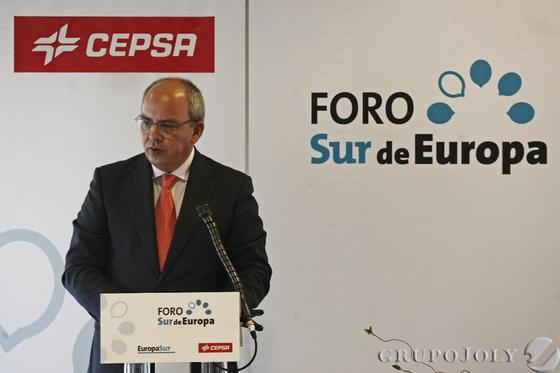 El presidente de los empresarios de Cádiz, Javier Sánchez Rojas.   Foto: Erasmo Fenoy