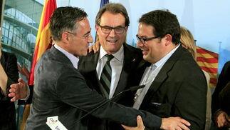 CiU, en la jornada electoral  Foto: EFE