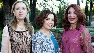 Adela Cabezas, Ángela Ruiz Gragea y Lola Pradas.  Foto: Victoria Ramírez