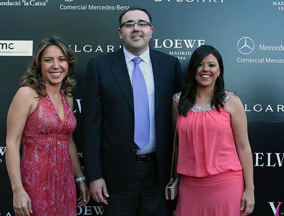 Elena Orta, José Javier Cano y Rocío Fernández.  Foto: Victoria Ramírez