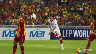 Las imágenes del Selangor-Sevilla