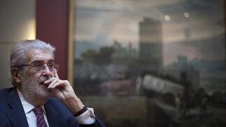 José Manuel Lara Bosch, en su despacho de Barcelona./ Antonio Pizarro