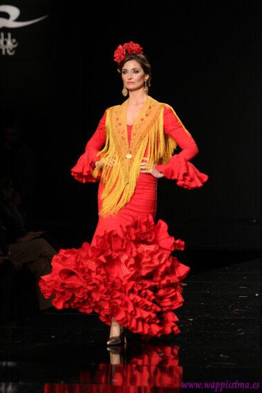 'El colorido de mi flamenca' - Simof 2015