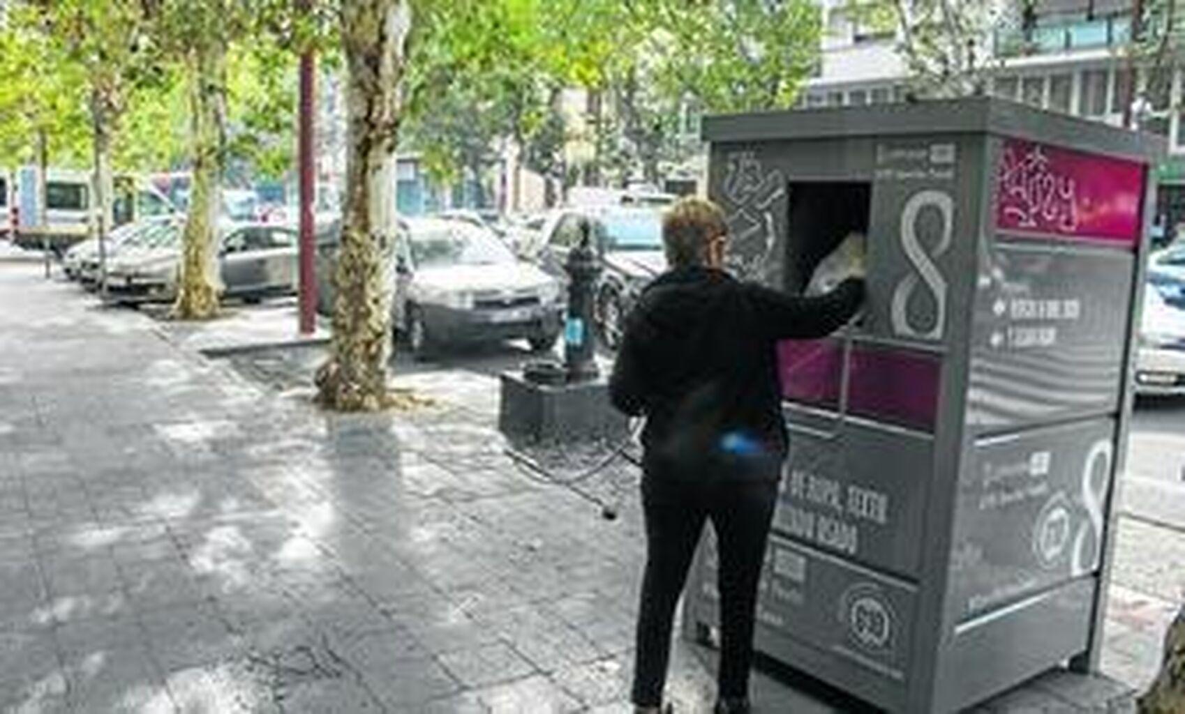 Puntos recogida ropa barcelona