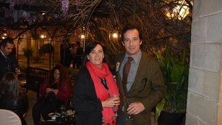 Ignacio Paternina con su mujer, Carmen Gil de la Serna.  Foto: Ignacio Casas de Ciria