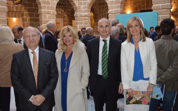 José María Gonzalo, Sandra Calleja, Eduardo Barrero e Isabel Mora.  Foto: Ignacio Casas de Ciria