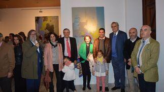 Ramón Pernas, Sara, Pedro y César Mellizo-Soto, Carmen Durán, Juan Hermoso, David Navarro y Alfonso de la Torre.  Foto: Ignacio Casas de Ciria
