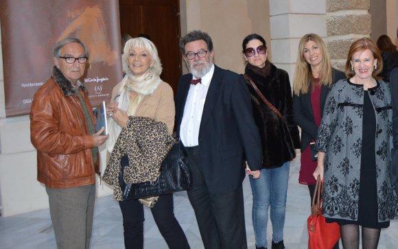 Paco Martín Beardo, Teófila Martínez, Marcos Zilbermann, Alejandra Ascorve, Yolanda Rico y Tete Fernández-Shaw.  Foto: Ignacio Casas de Ciria