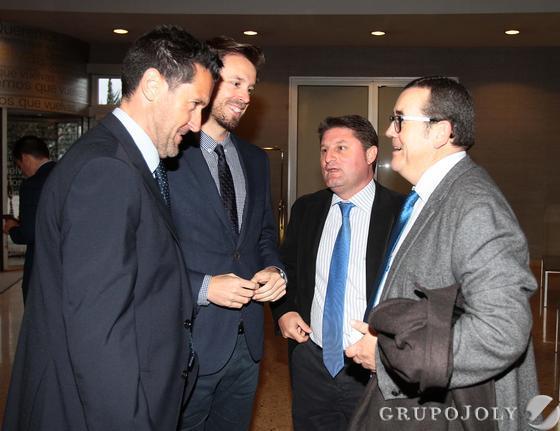 Alejandro Zubeldia, Juan José Martín, Francisco Javier Aragón y Miguel Castellano. Reportaje gráfico: María de la Cruz / Álex Cámara