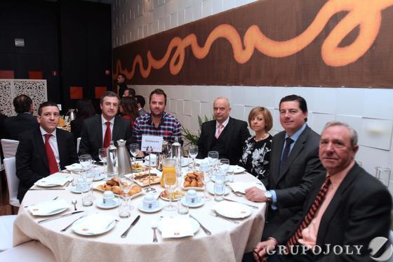 Pedro Miguel Parra, Antonio Martín, José Cabello, Víctor Fernández, Ana Latorre, Carlos Bocanegra y Enrique Oviedo. Reportaje gráfico: María de la Cruz / Álex Cámara