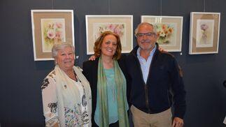 Julia Román, Rosa Quintero y Diego Barón.  Foto: Ignacio Casas de Ciria