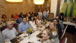 Cata en El Envero. El restaurante El Envero ha acogido una cata dirigida de Bodegas Liba y Deleite en la que se pudieron degustar los distintos vinos que elaboran bajo la marca Acontia.  Foto: José Martínez