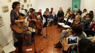 Música en Chirinos. La República de las Letras ha acogido el concierto de Sara Banda Sueños sin prisa, ¡Juntos otra vez!  Foto: Rafael A. Butelo