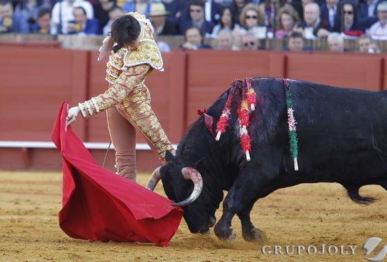 Tercero de la tarde  Foto: A. Pizarro