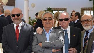 David Moreno, Manuel González Piñero, Gonzalo Galera y Juan Vallejo.  Foto: Ignacio Casas de Ciria
