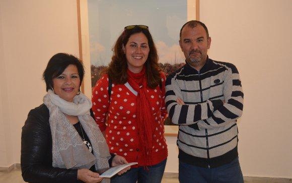 Salud García, Cristina Flores y José Manuel Marín, en la Sala Rivadavia.  Foto: Ignacio Casas de Ciria