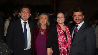 Alberto Díaz, Felisa Panadero, Virgina Pérez y Beltrán Pérez.  Foto: Juan Carlos V?uez / Victoria Hidalgo