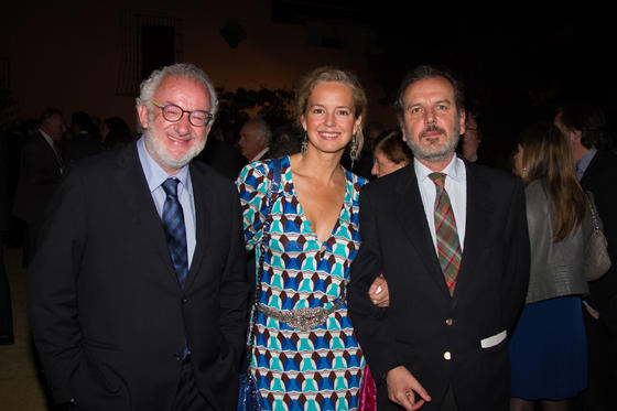 Fernando Francés, Adriana Torres y Cristian Salinas.  Foto: Juan Carlos V?uez / Victoria Hidalgo