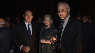 Francisco Ferraro, Asunta Navarro y Antonio Cruz.  Foto: Juan Carlos V?uez / Victoria Hidalgo