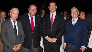 Jerónimo Pérez, Manuel Torralbo, Juan Ignacio Ferraro y Alfonso Pérez de los Santos.  Foto: Juan Carlos V?uez / Victoria Hidalgo