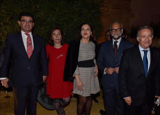 Amador Sánchez Martín, Pilar García, Victoria Herrera, José María O'Kean y Jorge Segura.  Foto: Juan Carlos V?uez / Victoria Hidalgo