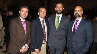 Aurelio Trujillo, José Manuel Feria, Ignacio Ochoa y Asier Barreiro.  Foto: Juan Carlos V?uez / Victoria Hidalgo