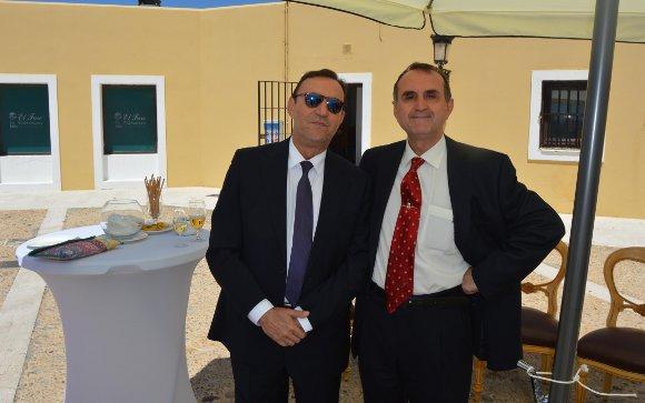 Juan Expósito coincidió con Antonio Ramírez.  Foto: Ignacio Casas de Ciria