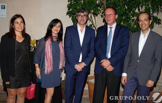 María Jesús Almazor, Cristina Eguskiza, Leopoldo Balmori, Felipe Granados y Juan Carlos Muñoz. / Fotos: Juan Carlos Muñoz y Victoria Hidalgo