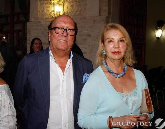 Juan Reguera y Mariquilla Fernández. / Fotos: Juan Carlos Muñoz y Victoria Hidalgo
