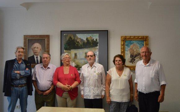 Cristóbal García Supervielle, los hermanos Gianni y Marina Campo, Ignacio Moreno, Carmen Vallejo y Harry Fairtlough.  Foto: Ignacio Casas de Ciria