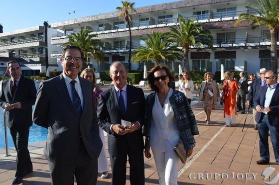 Francisco Javier Franco, Santi González y Cruz Agrelo, durante la presentación.  Foto: Ignacio Casas de Ciria