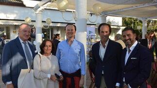 Emilo Lustau, Maria Nela Ruiz, Iván Moreno, Pepe Argudo y Matías Urrea.  Foto: Ignacio Casas de Ciria