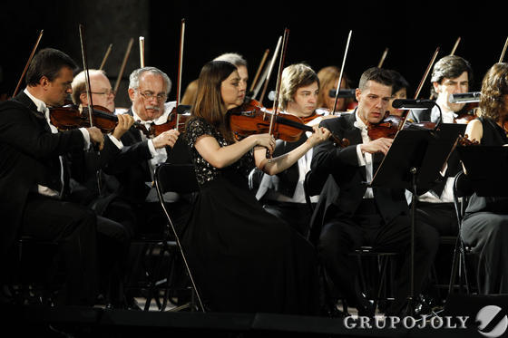 La orquesta brilló en el Carlos V.  Foto: Pepe Villoslada