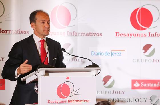 Aboukhair, director general y responsable de Banco Santander en España  Foto: Pascual · Vanesa Lobo