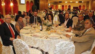Antonio Robles, Mariela Fernández, Juan José Martínez, Marta Castillo, Manuel Mingorance, Ángel Atarés y Jesús Martínez.  Foto: Alex Camara/Pepe Villoslada
