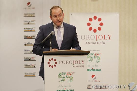 Luis Osuna, presidente-CEO de Grupo Covirán.   Foto: Alex Camara