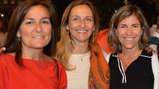 Ángela Morán Lamet, Rocío O´Neale e Isabel Muslera.  Foto: Ignacio Casas de Ciria