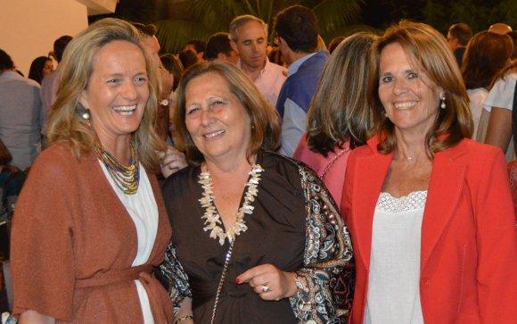 Blanca Moreno, Tere Jiménez del Cuvillo y Mercedes Jara.  Foto: Ignacio Casas de Ciria