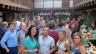 Fiesta Clandestina en la Posada del Potro. La Posada acogió ayer la Fiesta Clandestina Alhambra Reserva 1925, un nuevo concepto de afterwork, diferente a cualquier evento y con la cerveza como protagonista. / José Martínez