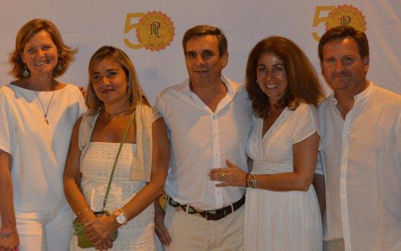 Sophie de Clerck, Blanca Bachiller, Rafael del Cuvillo, Keka Mondero y Alejandro Grosso.  Foto: Ignacio Casas de Ciria